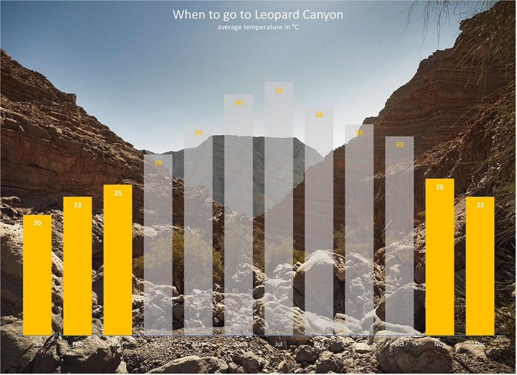 leopard canyon weather