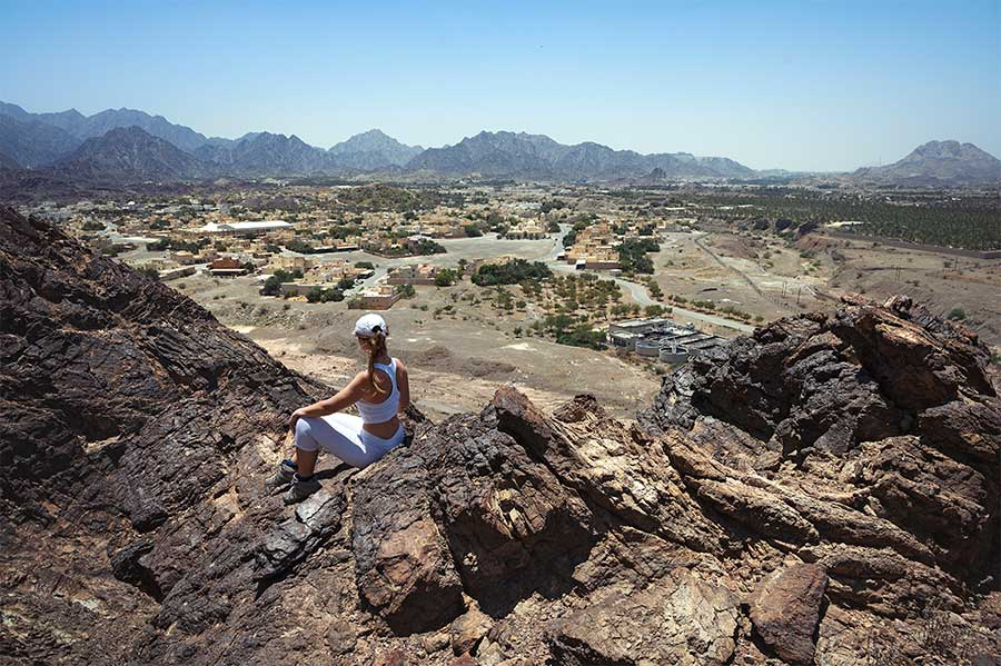 best things to do in hatta- hiking hatta trails