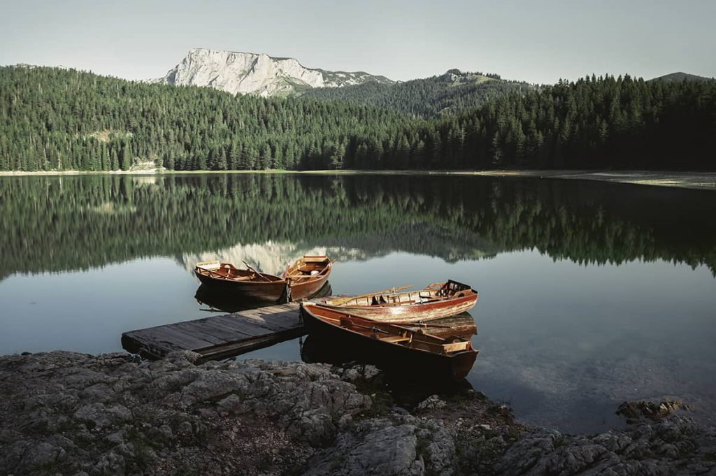 black lake in durmitor national park zabljak montenegro road trip itinerary for two weeks