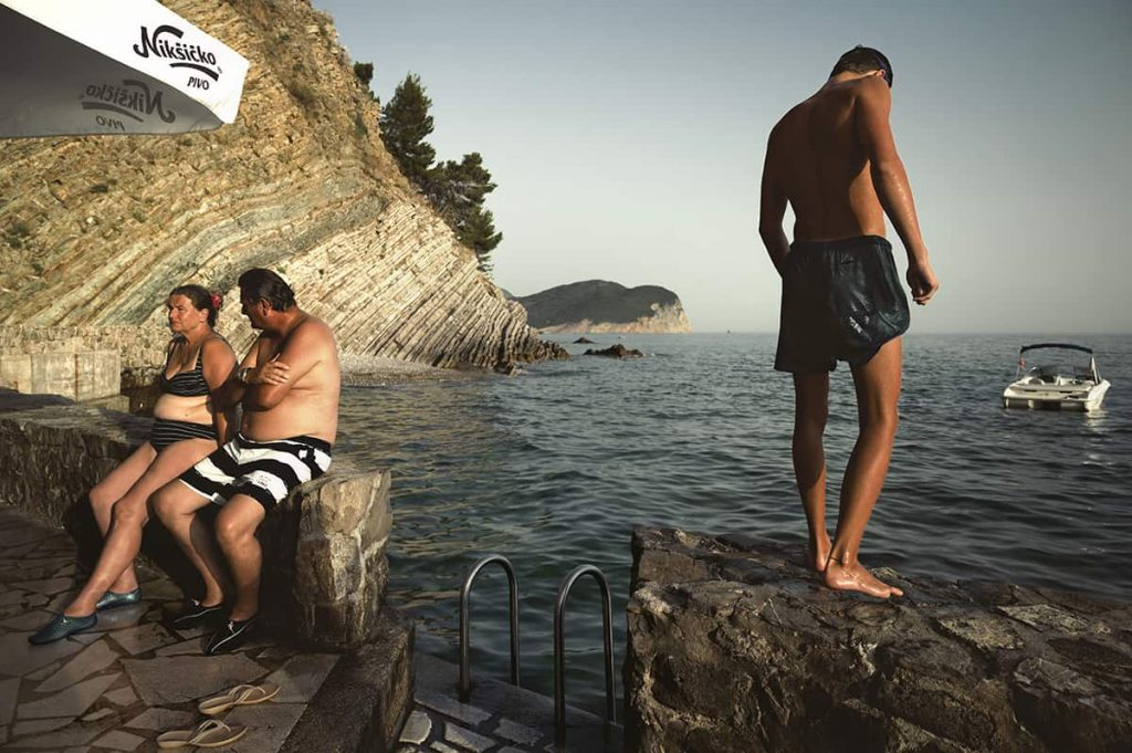 petrovac na moru beach at sunset montenegro road trip itinerary for two weeks
