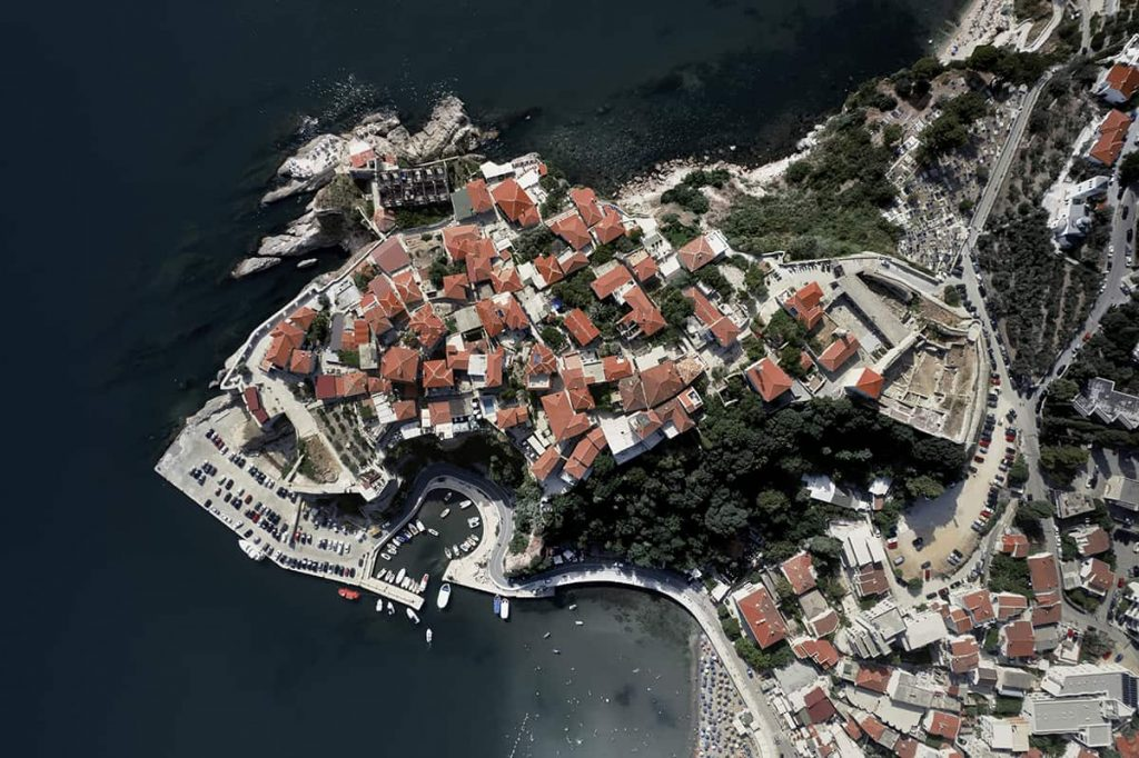ulcinj old town aerial views montenegro road trip itinerary for two weeks